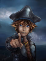 Pirate Sora by AzuraJae
