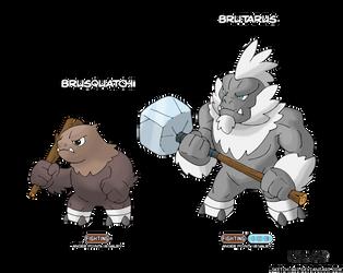 Combat Evolved!: Brute