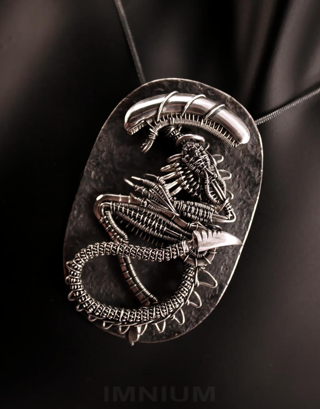 Alien fossil II by IMNIUM