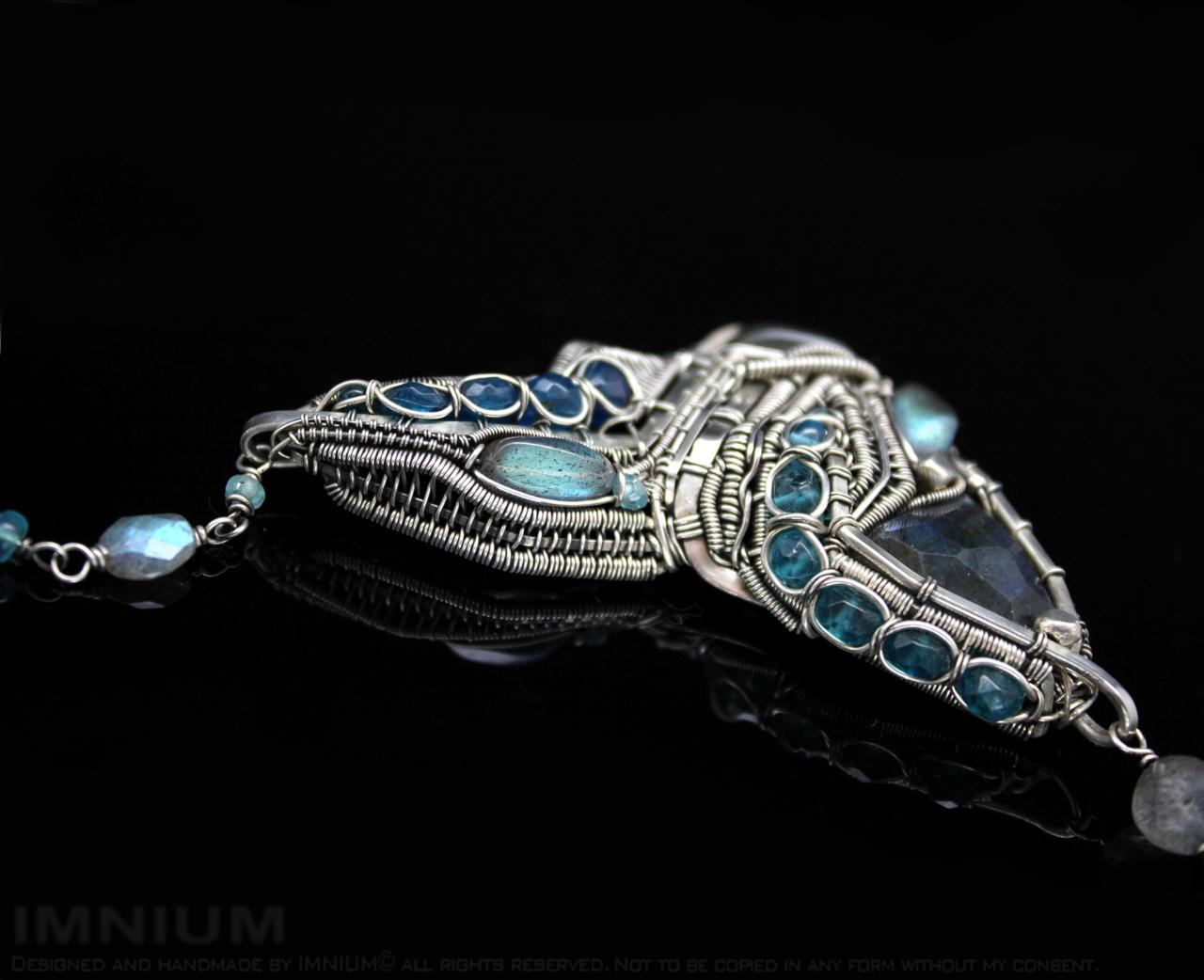 Machine necklace by IMNIUM