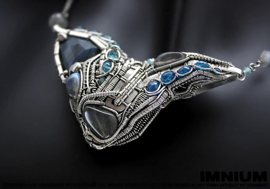 Machine necklace II by IMNIUM