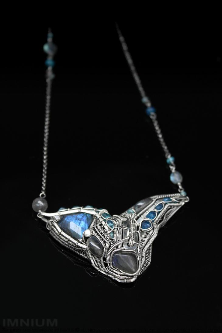 Machine necklace IV by IMNIUM