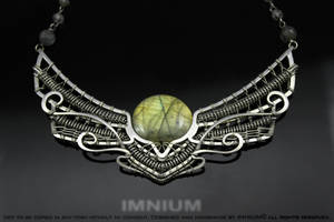 The Winged Sun necklace