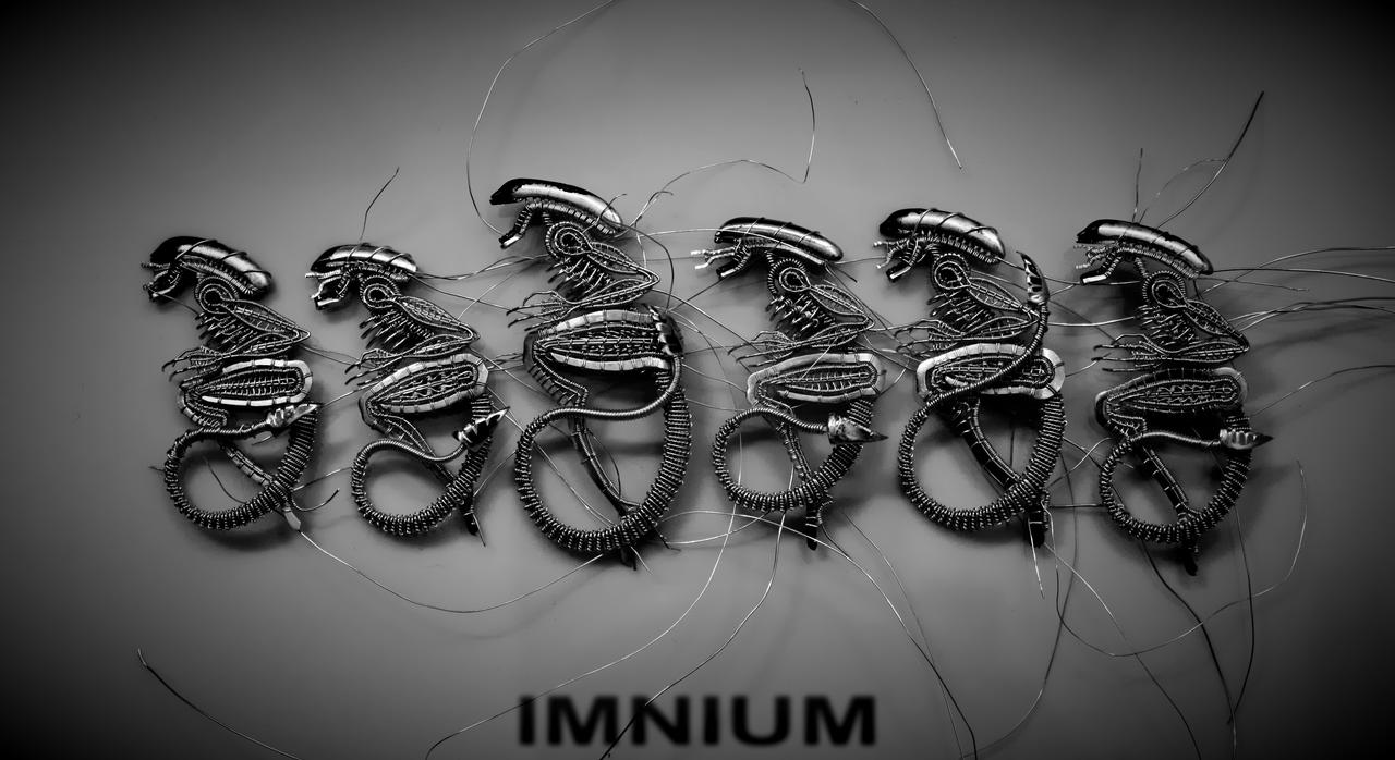 WIP aliens by IMNIUM