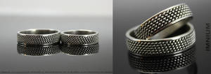Wedding rings by IMNIUM