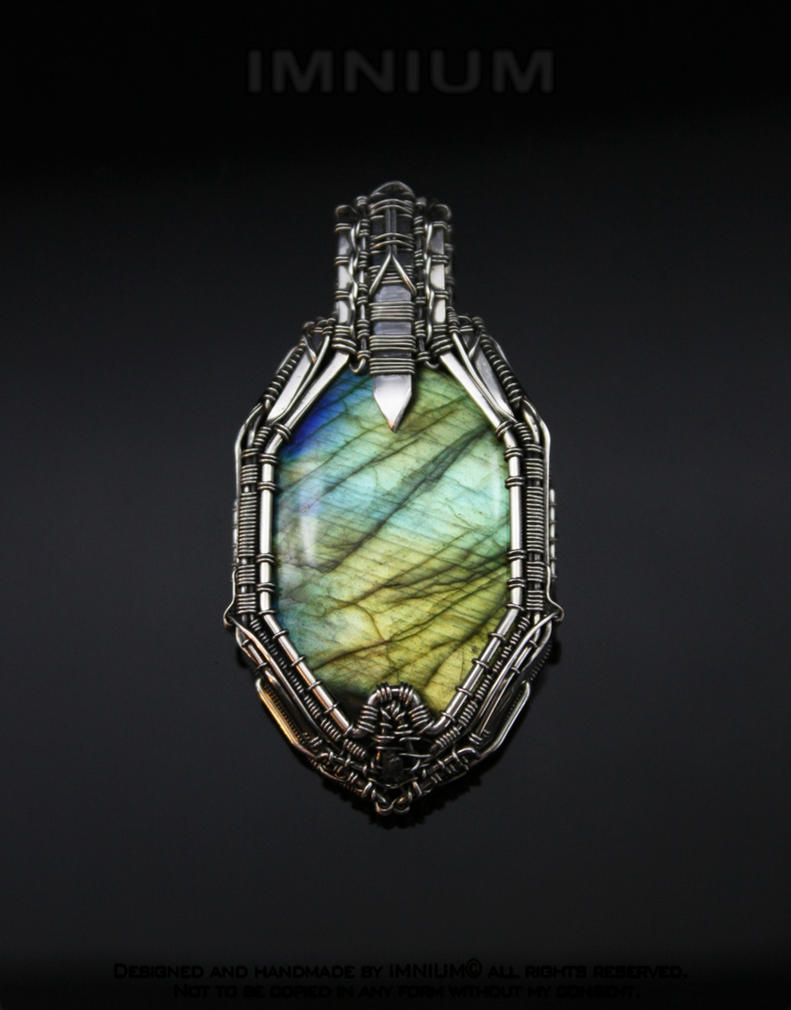 pendant historical amethyst silver crafts california sterling labradorite arts design metalware