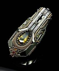 Hybrid monster pendant by IMNIUM