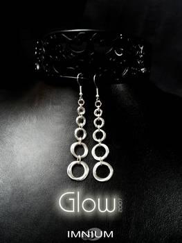 Glow earrings long