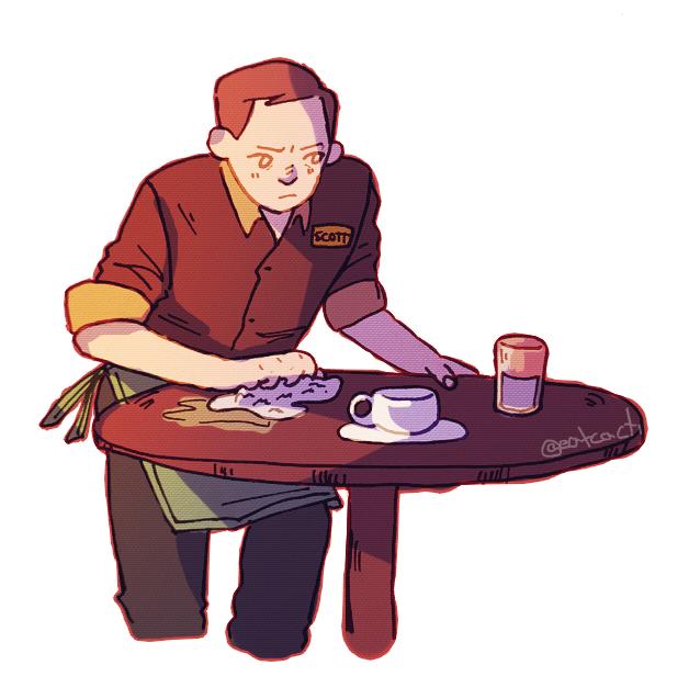 A Reaally Dumb Star Trek Coffee Shop Au By XXIZ DELXx ...