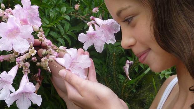 As pretty as a flower