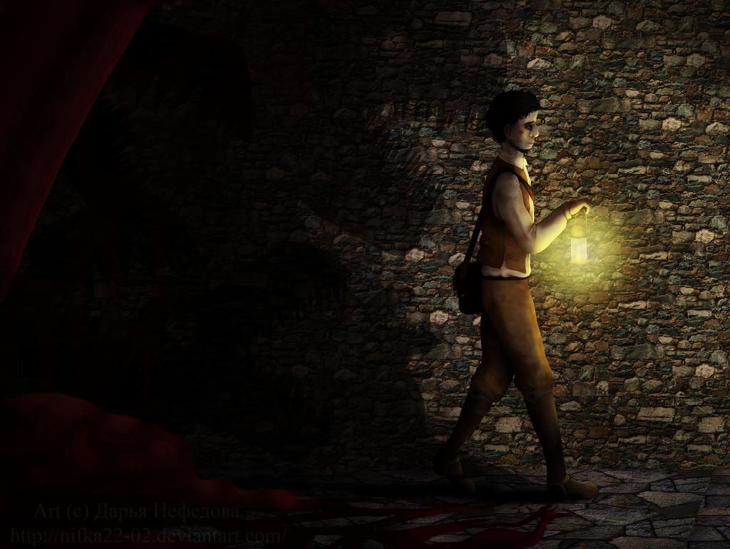 Something is behind me by Nifka22-02