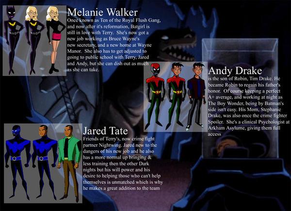 Batman Beyond: Profiles by NanaCloud