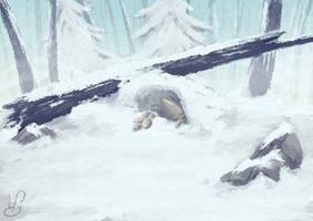 Landscape for animation - 3/20 by Viyodre