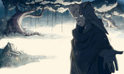 Blue swamp (re drawn) by Viyodre