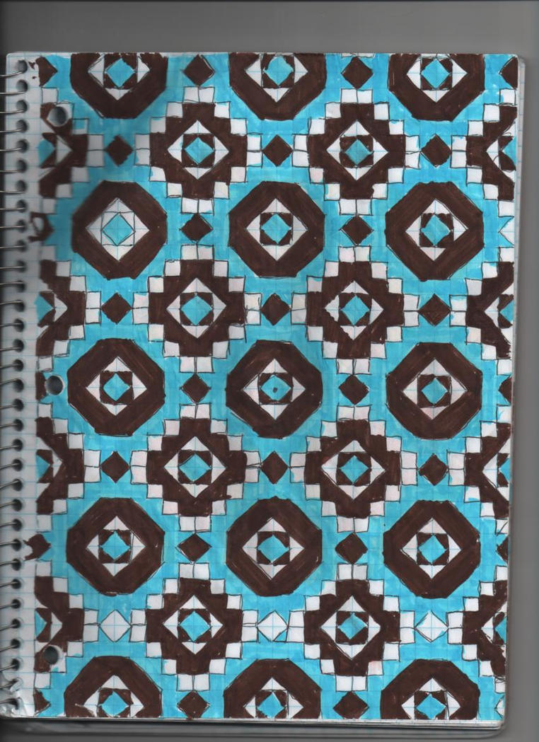 Grid paper art 1 by japanxpocky on deviantart for Art design ideas for paper