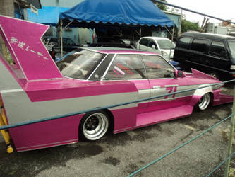 Japanese Pink Car Again by FunSmilies