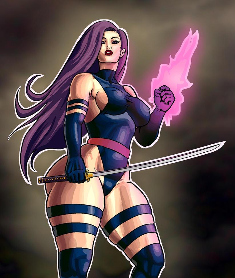 Psylocke by THOR16000