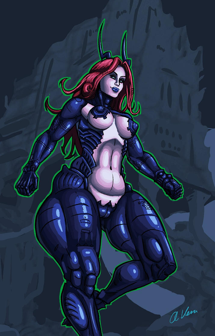 Desiree the cyborg by THOR16000