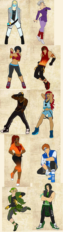Ninjago Breakdance AU