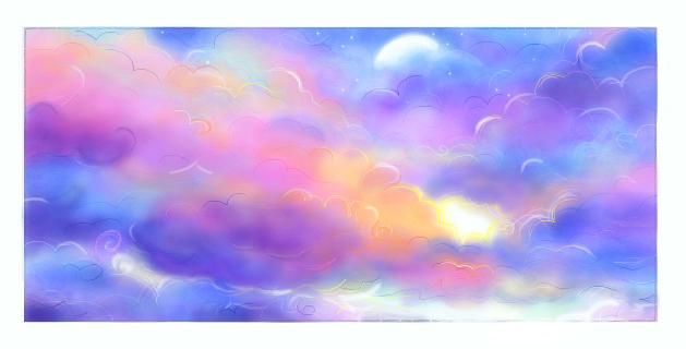 Colorful clouds by rilakkumi on deviantart colorful clouds by rilakkumi voltagebd Choice Image