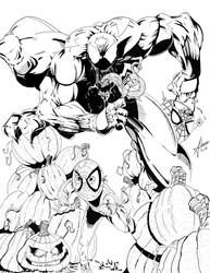 Venom taking Candy by sdooley