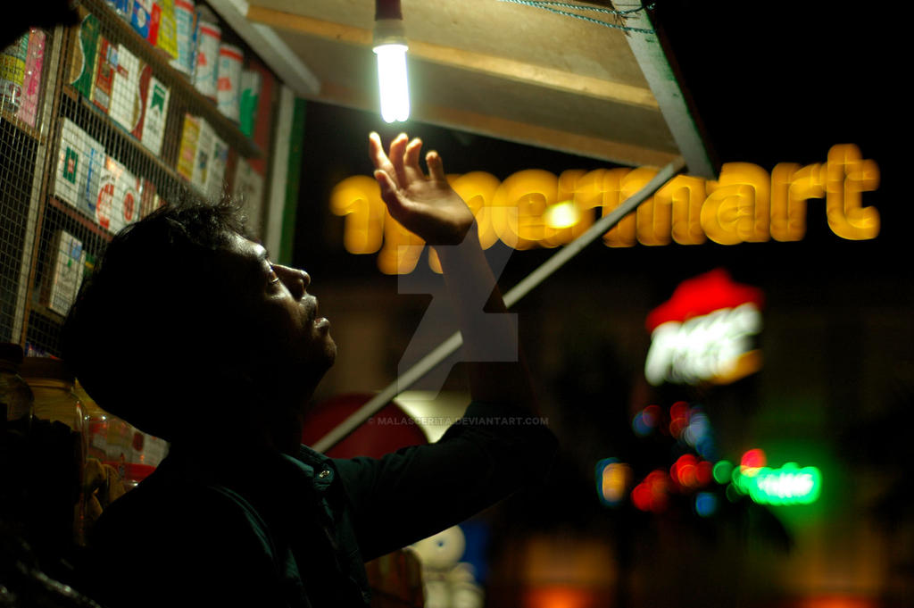Light Up The Night by malascerita
