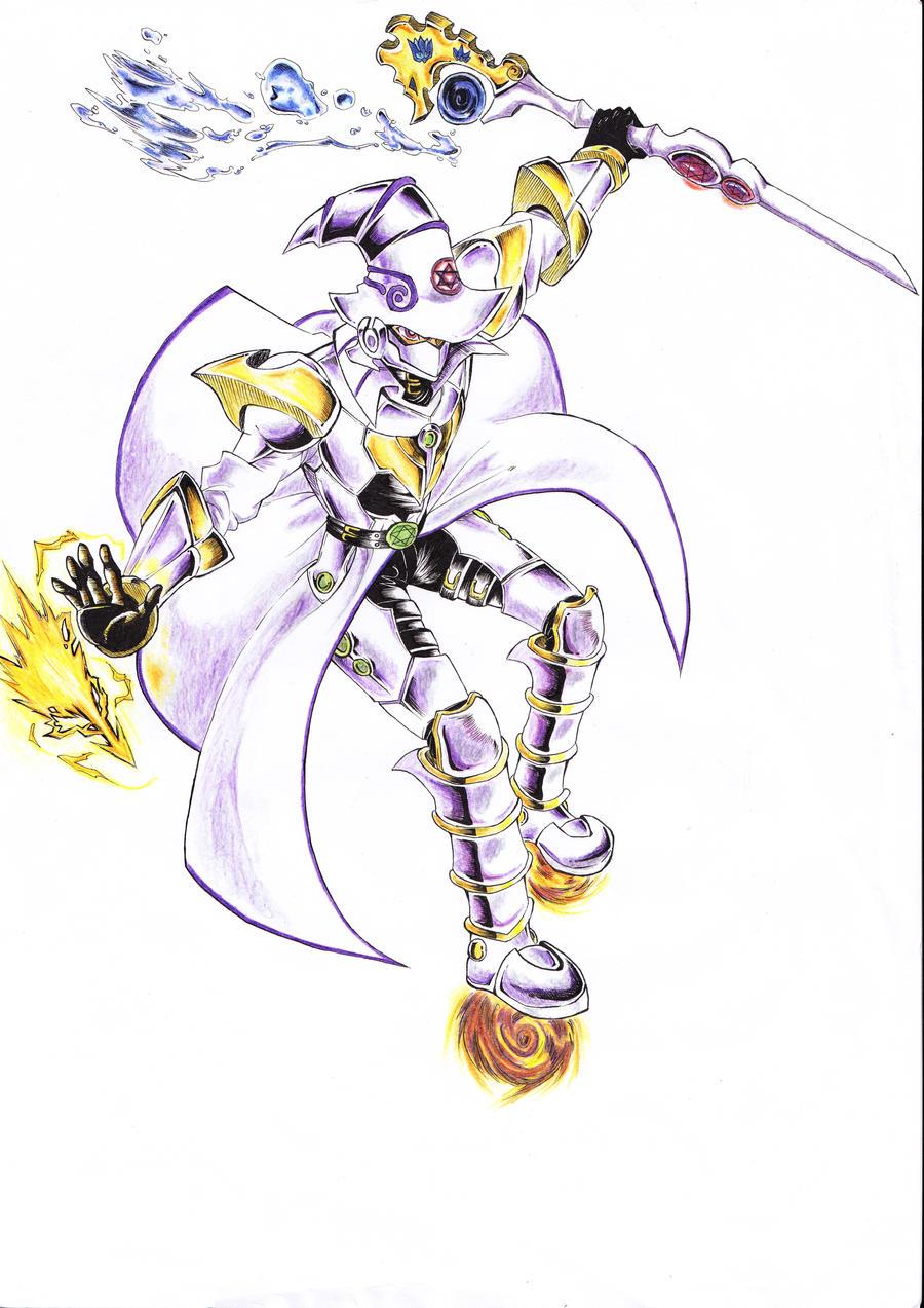 sorcerer of white knight by senocta13