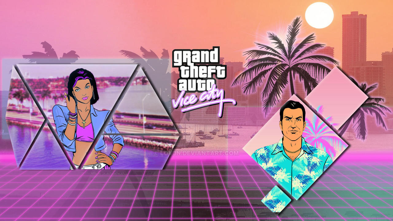 Grand Theft Auto Vice City Wallpaper By Lov3n On Deviantart