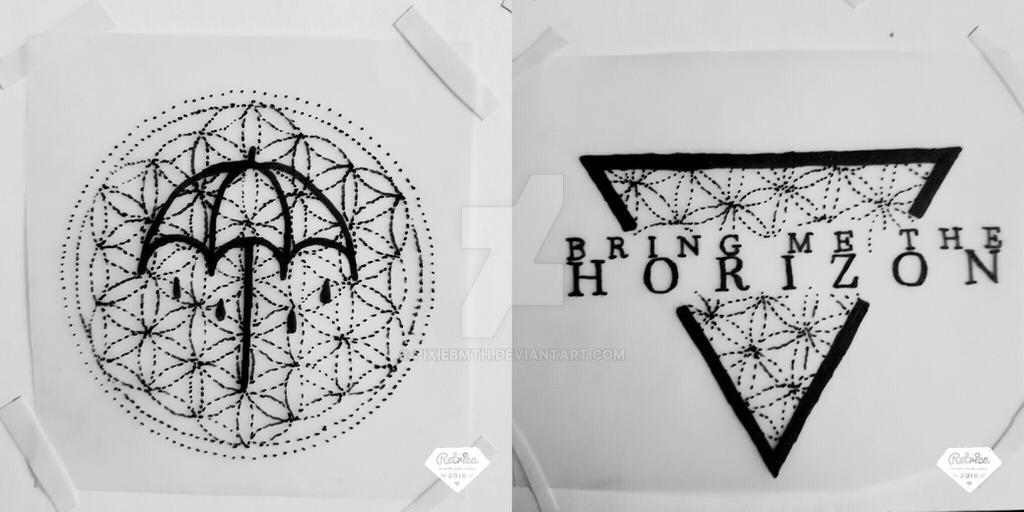 tattoo designs bmth by pixiebmth on deviantart