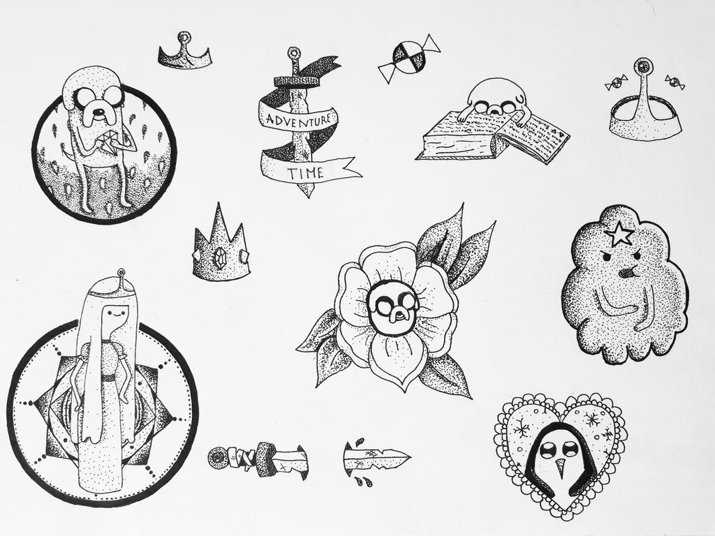 adventure time tattoo designs by pixiebmth on deviantart. Black Bedroom Furniture Sets. Home Design Ideas