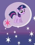 Twilight Sparkle Cell Wallpaper (BlankFlank 2)