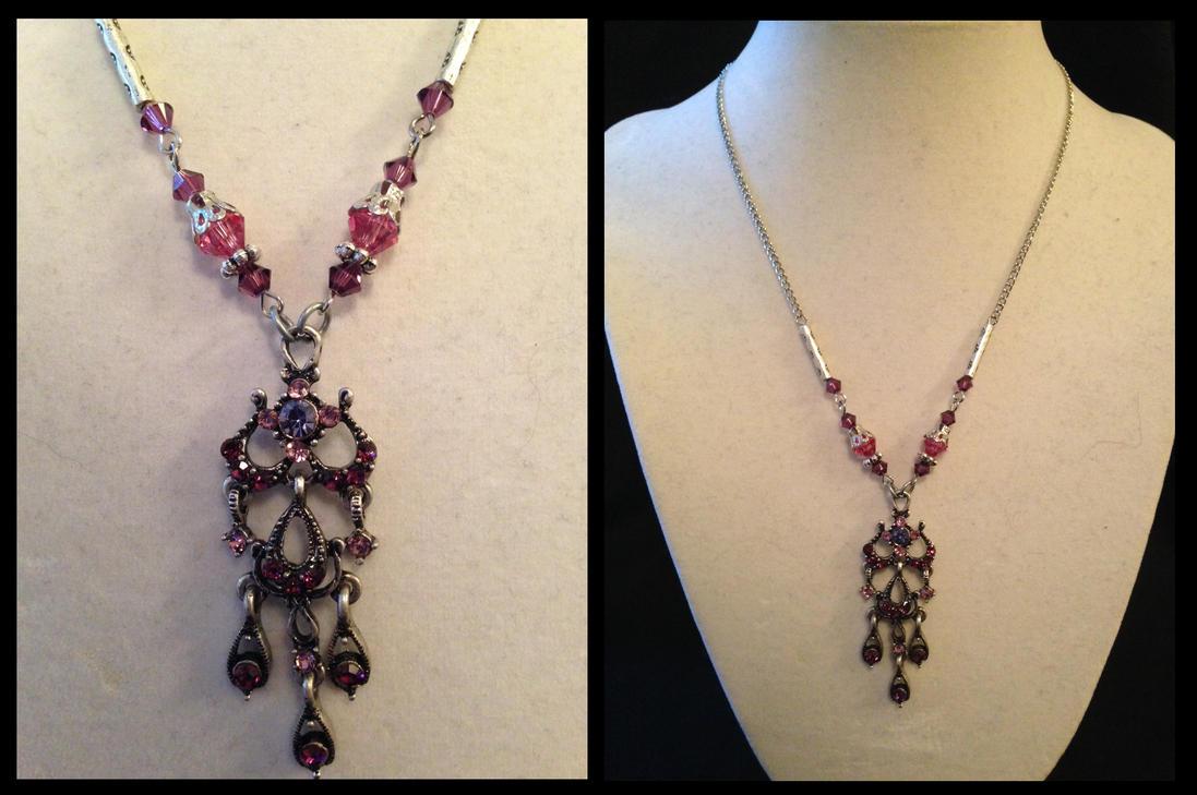 Purple Chandelier by NikidaEve