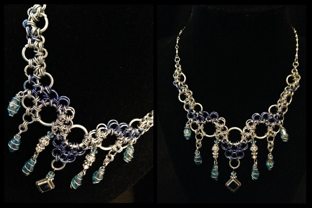 Water Droplets Octopus Weave: Deep Sea Edition by NikidaEve