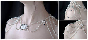 Elegant Draping Bridal Necklace