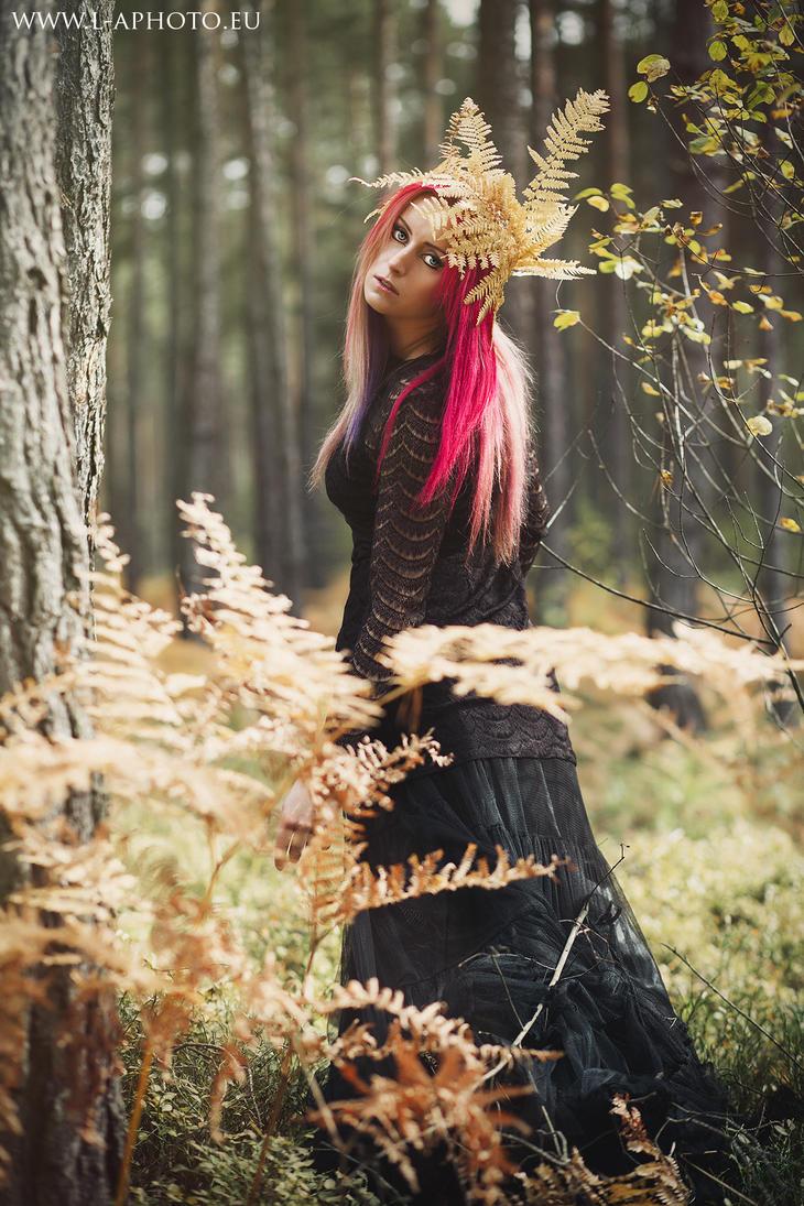 fern fairy by BloodyKyra