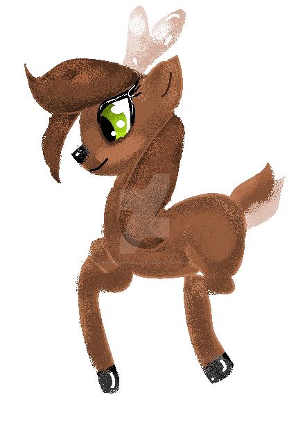 Mlp Deer by Noxiouschocolate-3