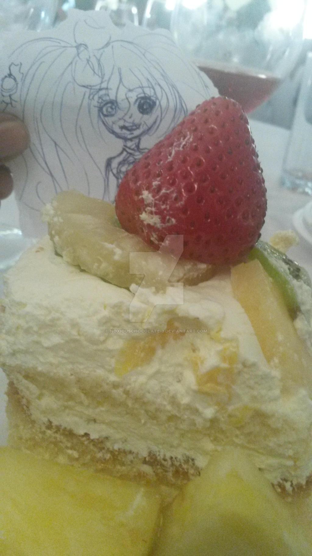 Wha- HEY GET AWAY FRO MY CAKE X[ by Noxiouschocolate-3