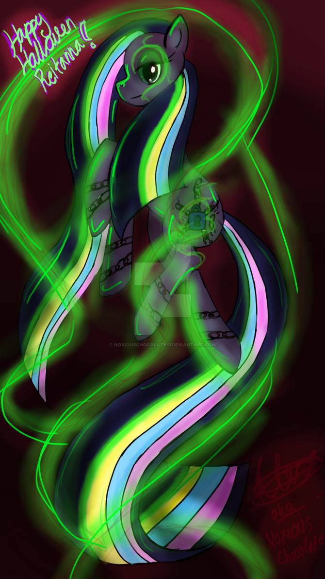 Rainbow power minkie pie! by Noxiouschocolate-3