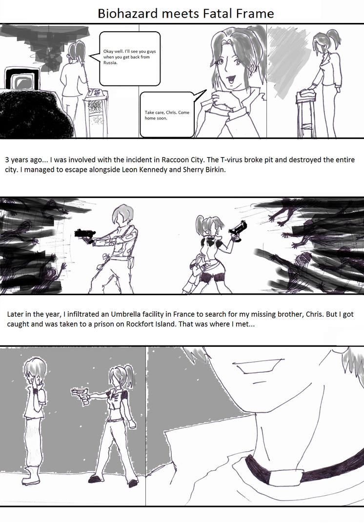 RE meets Fatal Frame pg 1 by Chance-EXE on DeviantArt