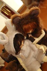 Teddy Bear and Vanilla Bunny II by Pandora-BJD
