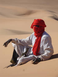 Touareg in Libya by desmaison