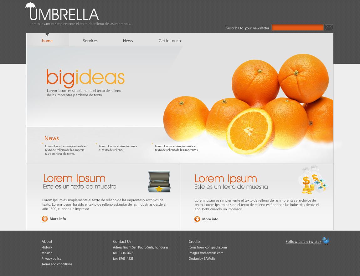 Umbrella Business Site