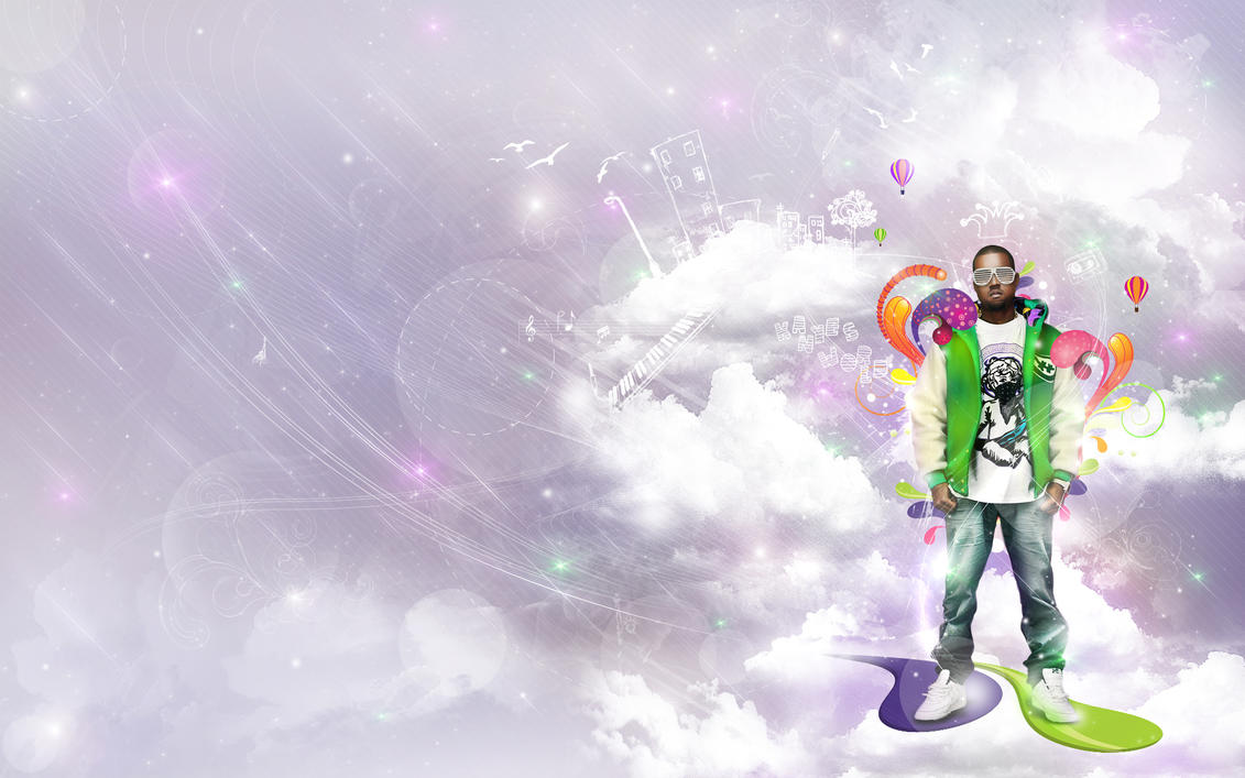 Kanye's World by EAMejia