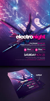 Flyer Electro Night