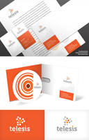 Corporate Identity Telesis by EAMejia