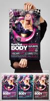 Rock that Body Flyer by EAMejia