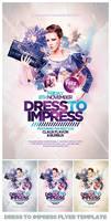 Dress to Impress Flyer PSD Template