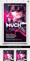 So Much Love Flyer Template