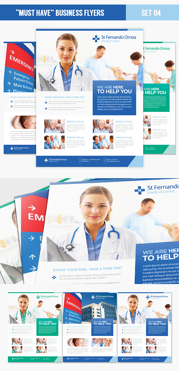 Medical Hospital Health Flyer Template PSD by EAMejia on – Hospital Flyer Template