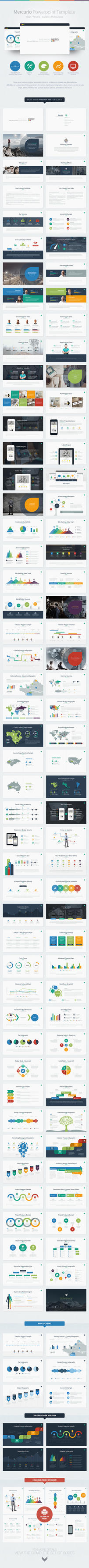 Mercurio PowerPoint Presentation Template by EAMejia